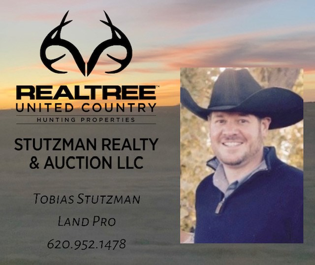 stutzman farm ranch land real estate broker kansas