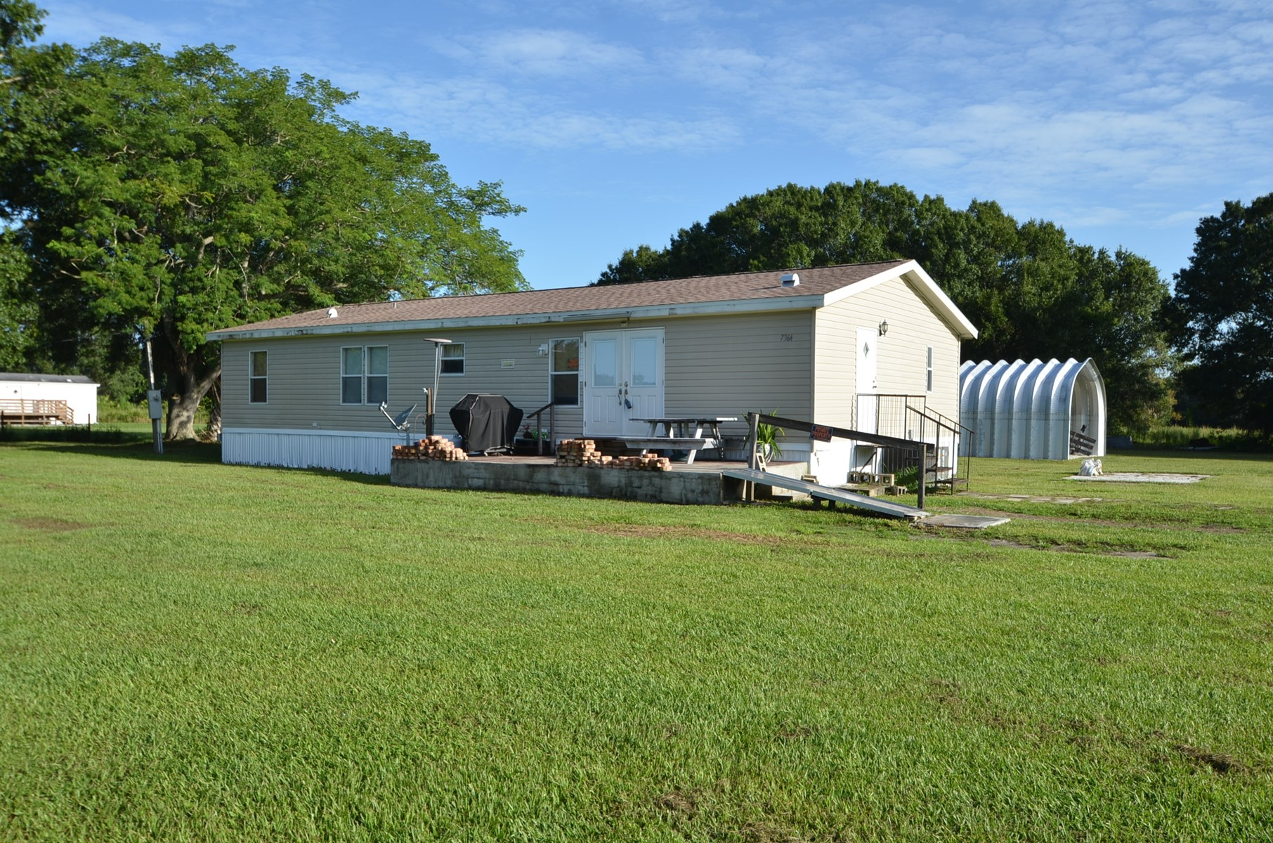3 BR 2 BA home on over 1/2 an acre of land!