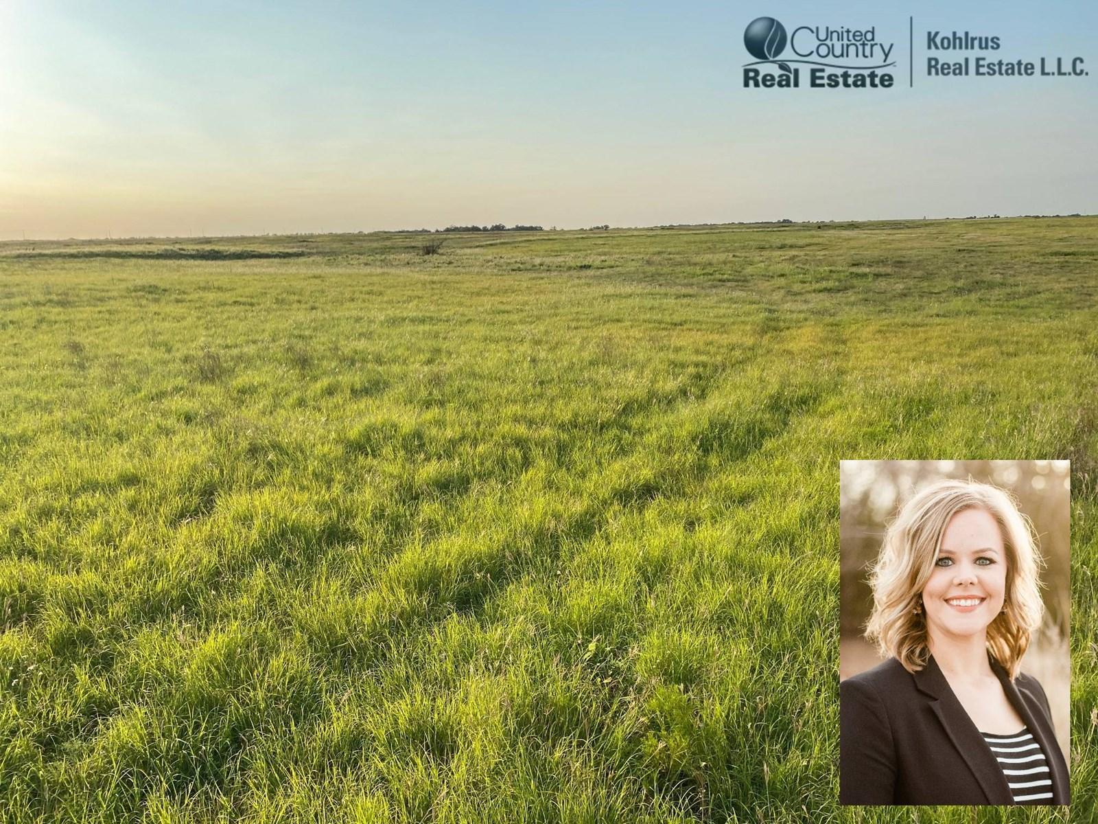 Great Farmland Pasture in Wakita, OK Grant County - Hunting