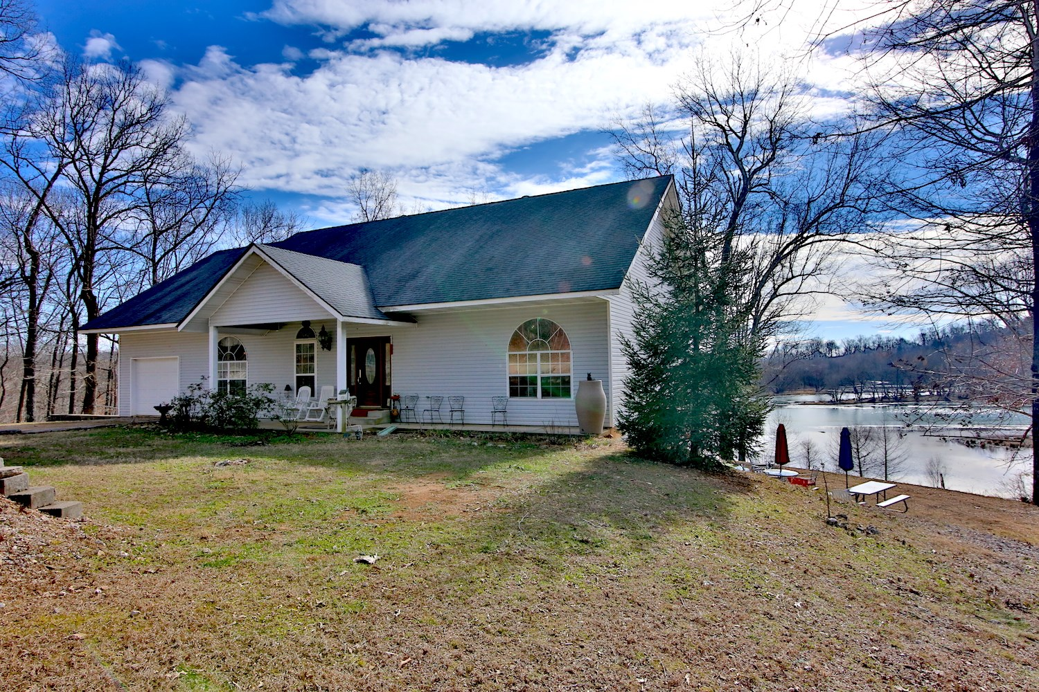 Spring River Front Home for Sale!