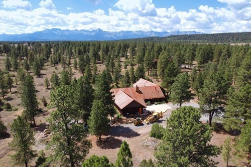 Flavor of New Mexico, Beautifully Treed Property, Loghill