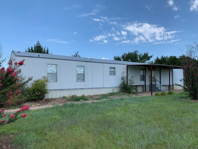 BYARS OKLAHOMA HOME FOR SALE WITH ACREAGE MCCLAIN COUNTY OK