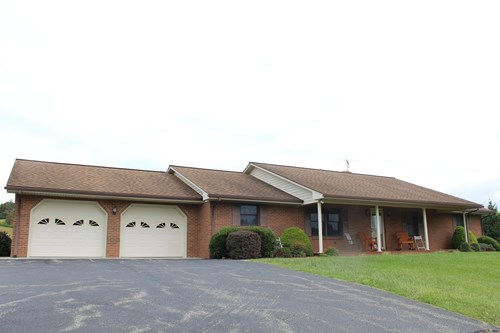 BRICK RANCH STYLE HOME FOR SELL IN FLOYD, VA
