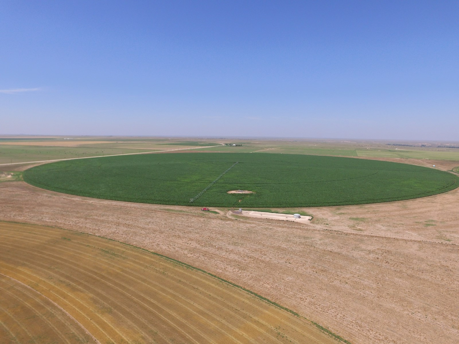 Online Only Auction Texas County OK Irrigated Cropland