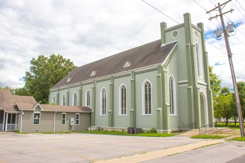 Historic Church W/Living and Reception Areas in Carlinville