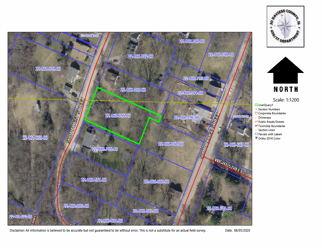 Lot For Sale in Historic Galena