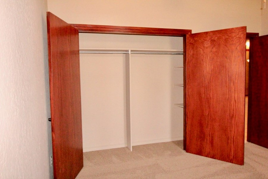 Large Closets throughout