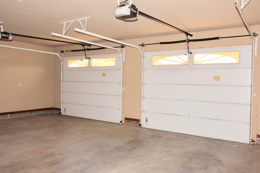 Garage with extra space
