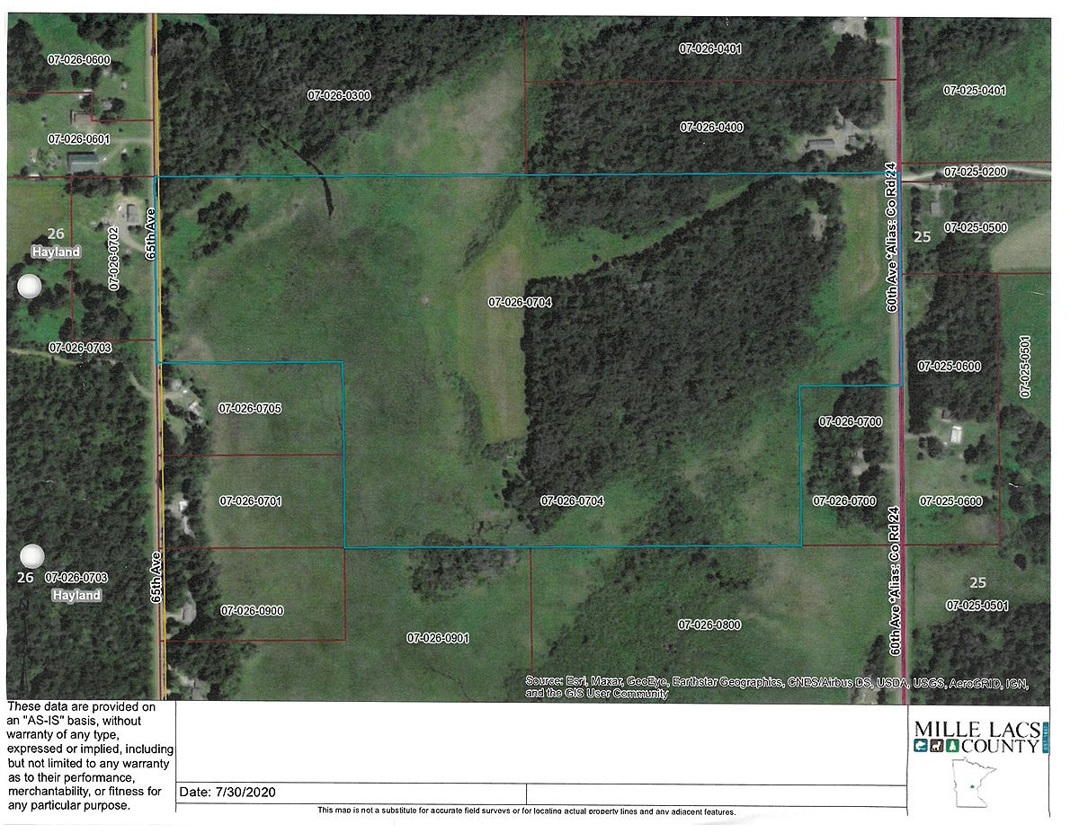 Buildable Land for Sale in Mille Lacs Co