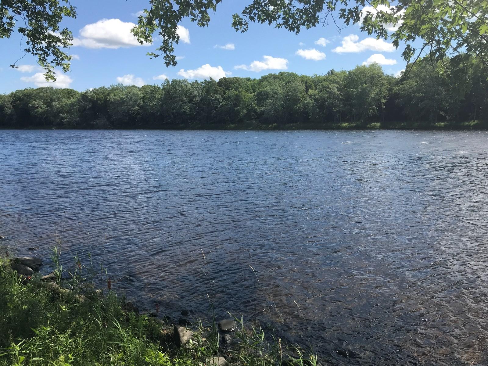 Maine Riverfront Lot For Sale