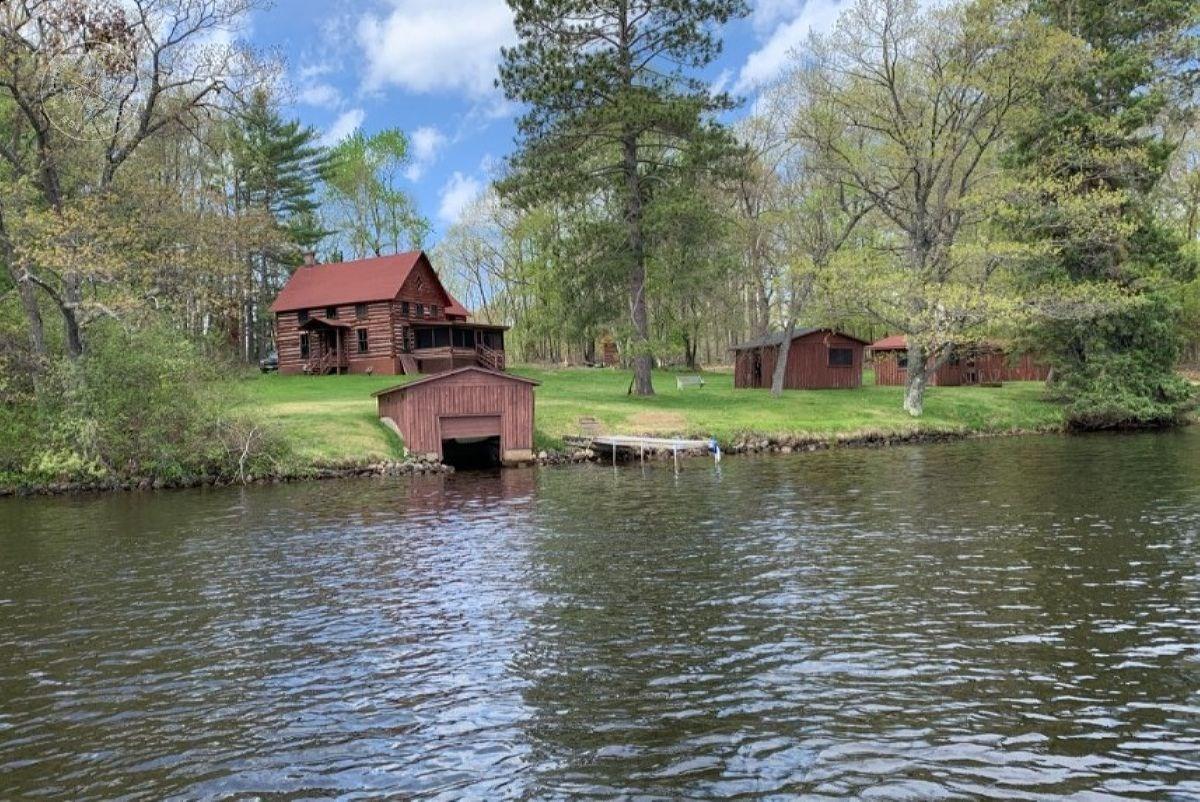 Classic Northwoods Wisconsin Historic Retreat Langlade Count