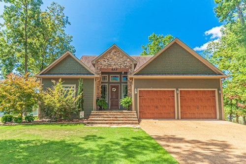 Beautiful Lakefront Custom Home in Great Location
