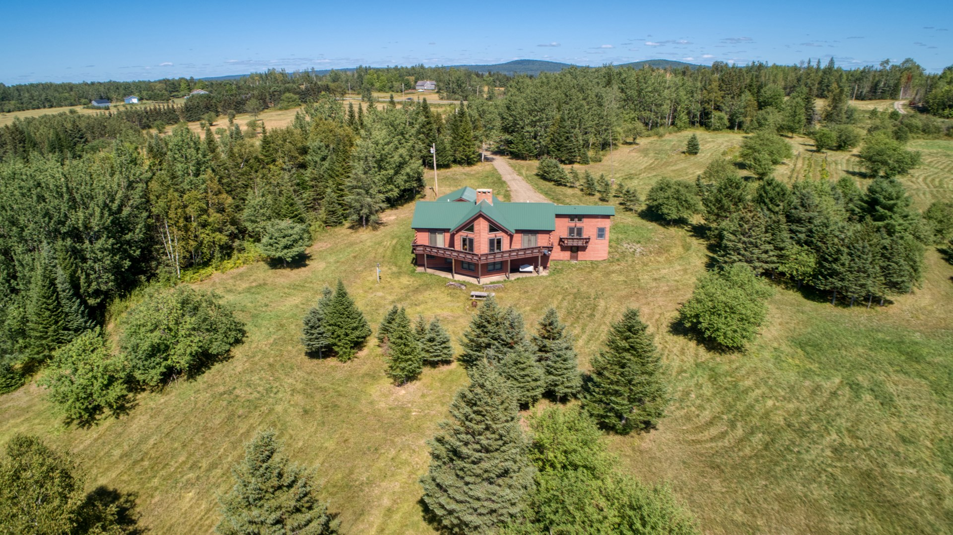 Waterfront Maine Home For Sale in Portage Lake
