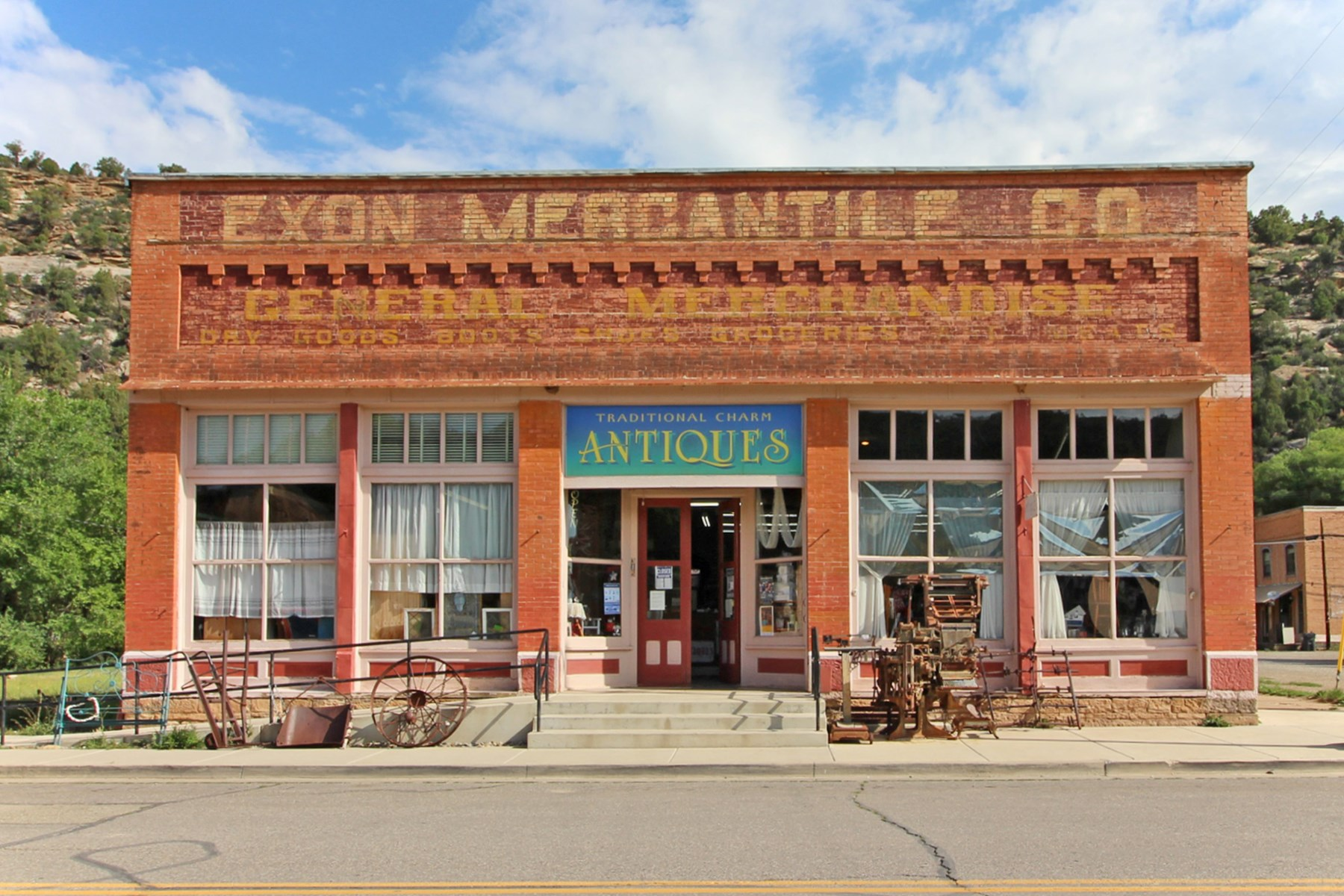 Historic building and business opportunity in Dolores, CO