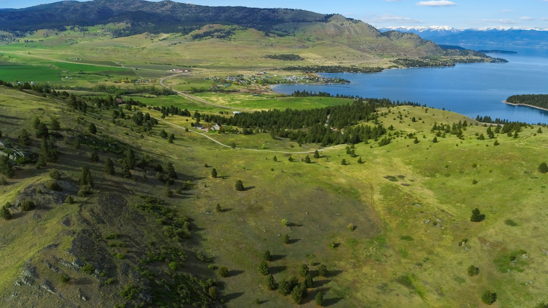Incredible Montana Acreage Near Flathead Lake