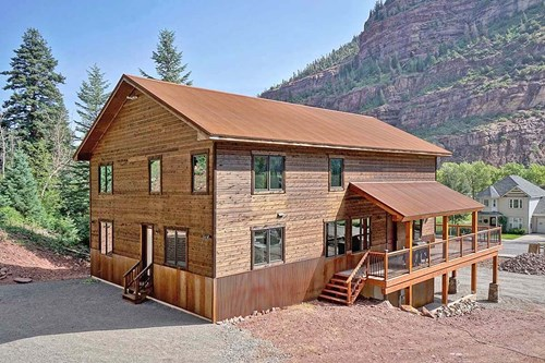 Beautiful Cedar Mountain Home For Sale, Ouray, Colorado