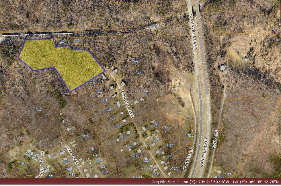 Investment Potential! 8 acres in Danville, VA