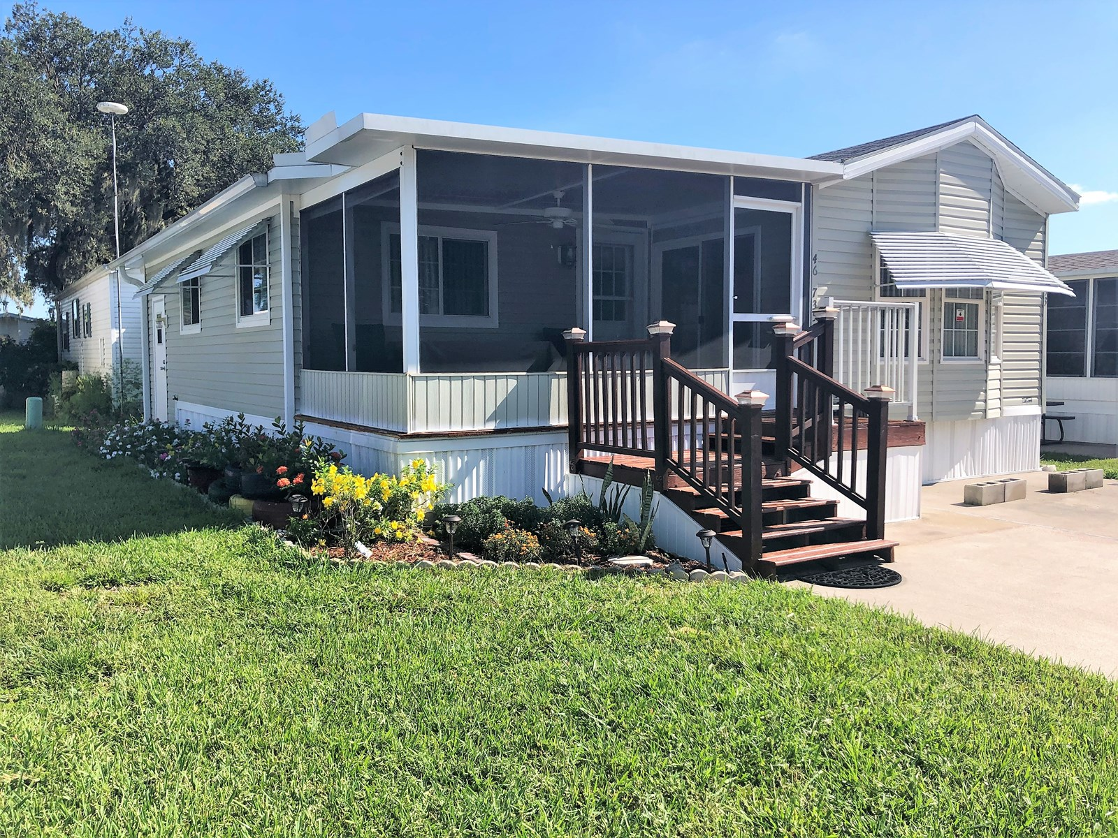 1/2 MOBILE HOME, 55+ RV RESORT COMMUNITY, CENTRAL FLORIDA