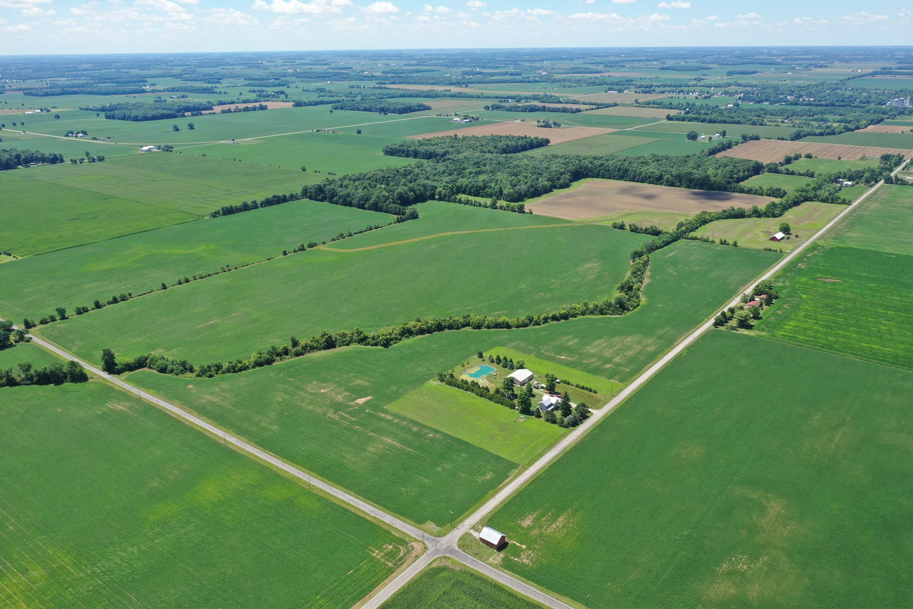 65.74 Acres +/- For Sale - Hancock County, Ohio