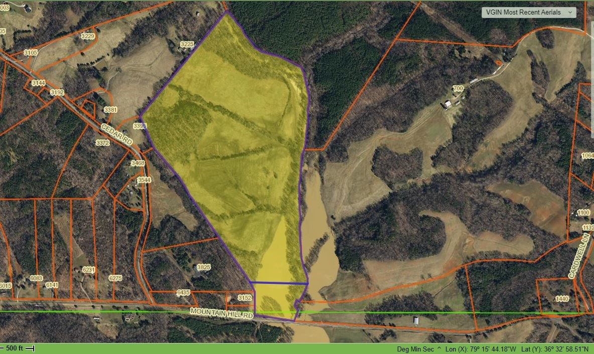 Land Great For Cattle For Sale In Pittsylvania County, VA