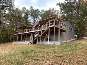 BRAND NEW LAKEFRONT HOME/ACREAGE