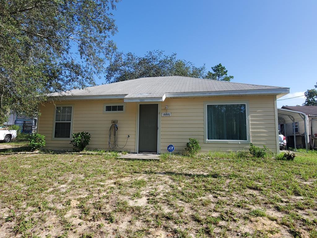 2 BR1 BA site built home 1.25 acres Bronson, FL, Levy County