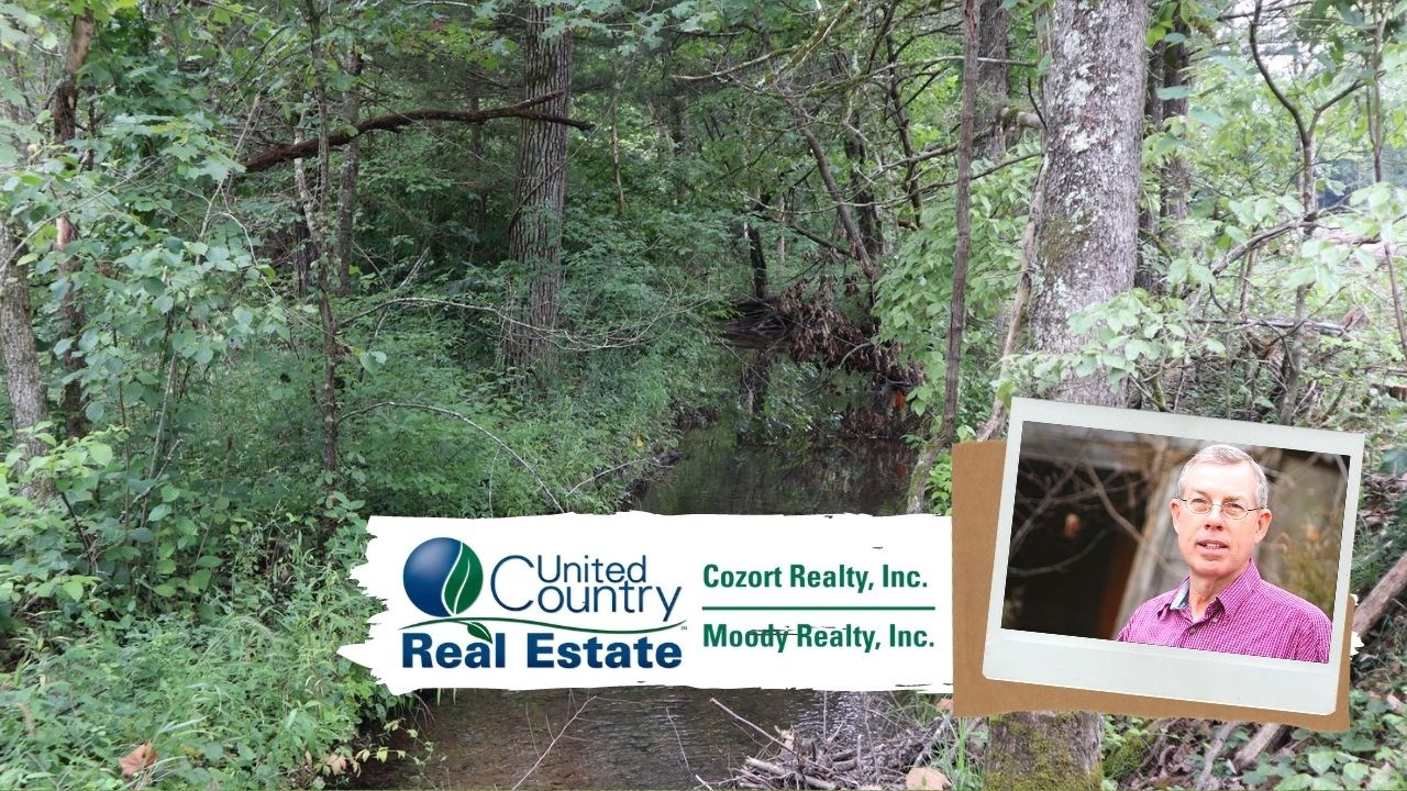 Ozarks Recreational Property with Creek and Spring for sale