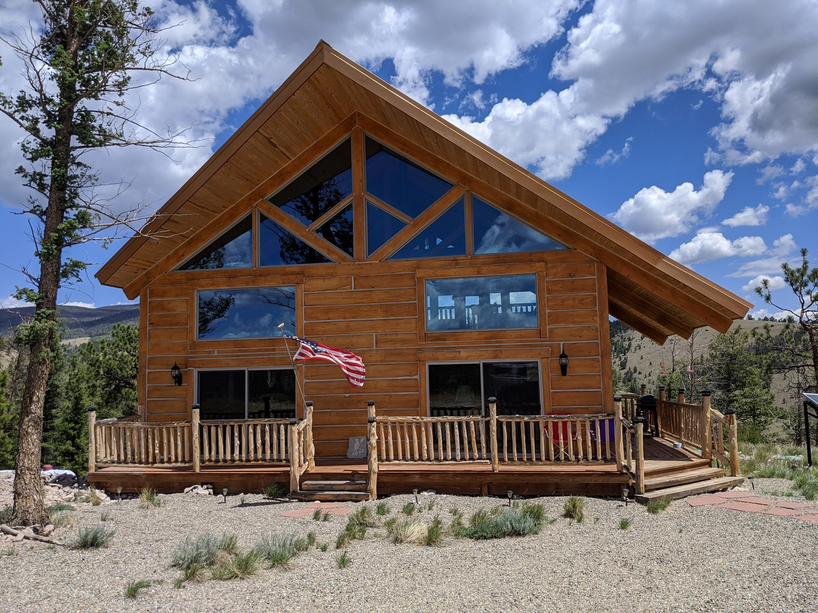 Mountain Dream Property with Off Grid Cabin on 95 Acres