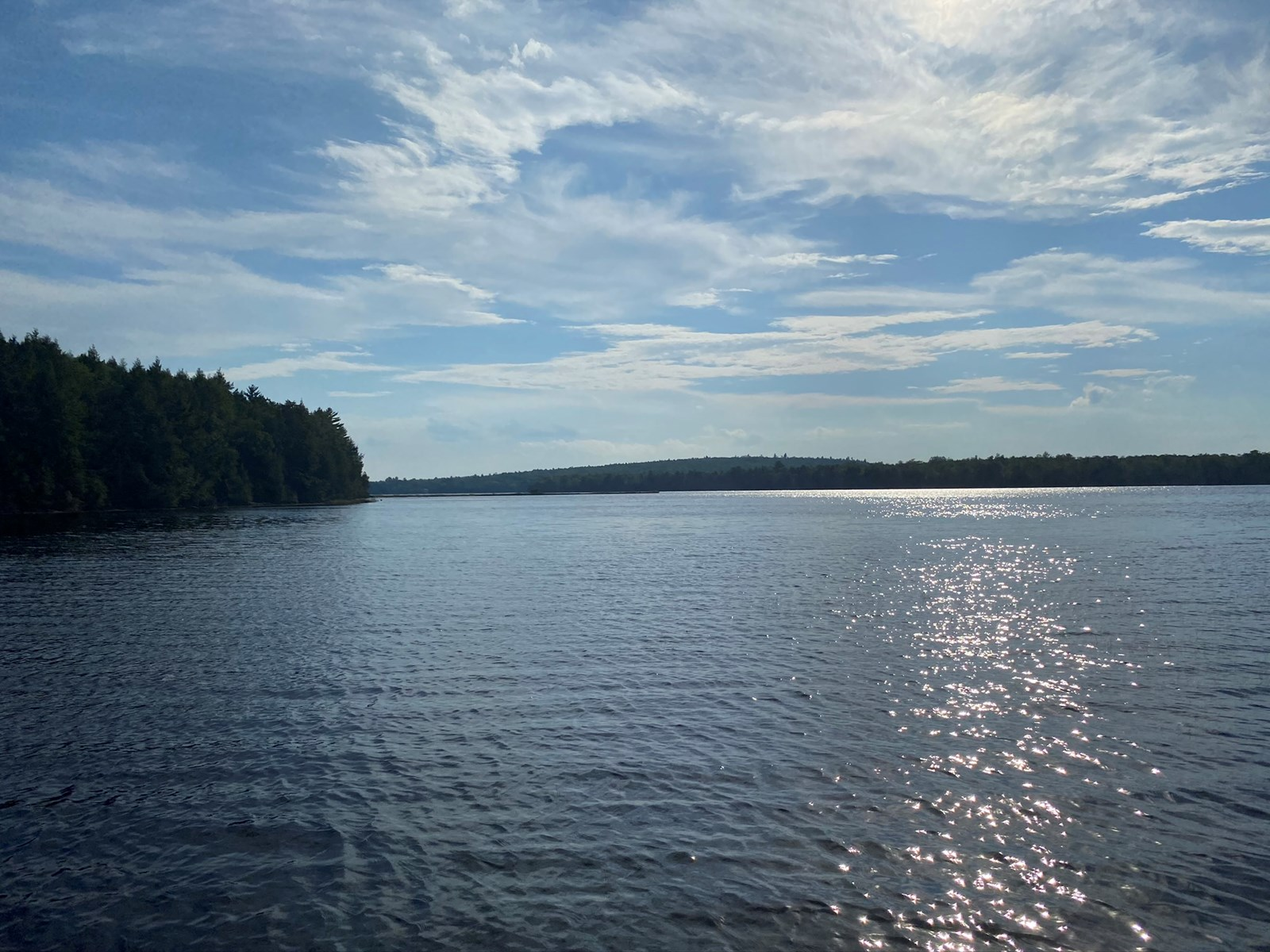 Lakefront lot for sale in Lincoln, Maine
