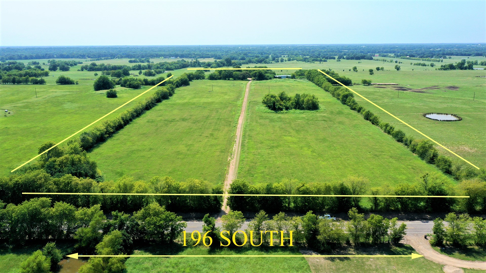 Investment Country Home & Land For Sale Pattonville Texas