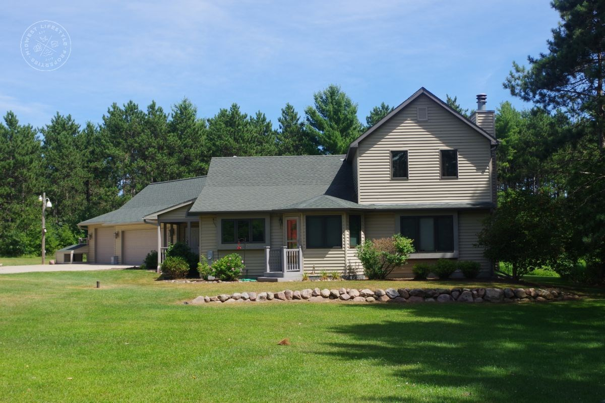 Gorgeous Central Wisconsin Country Home for Sale Portage Cou