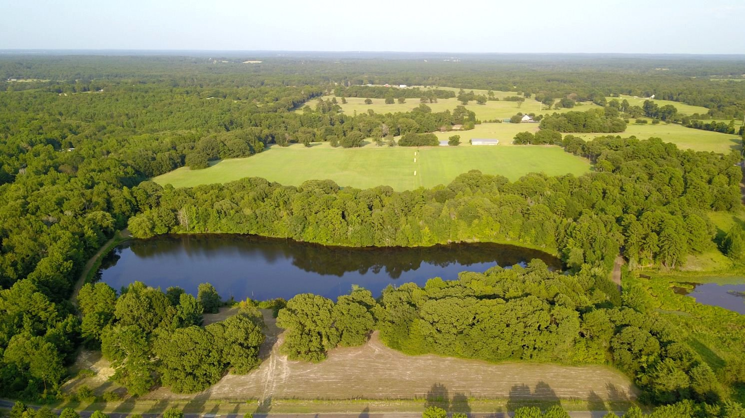 BULLARD ACREAGE FOR SALE INCLUDING 8 AC STOCKED LAKE