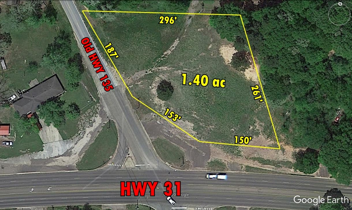 NICE CORNER LOT WITH HWY 31 FRONTAGE FOR SALE, KILGORE TX
