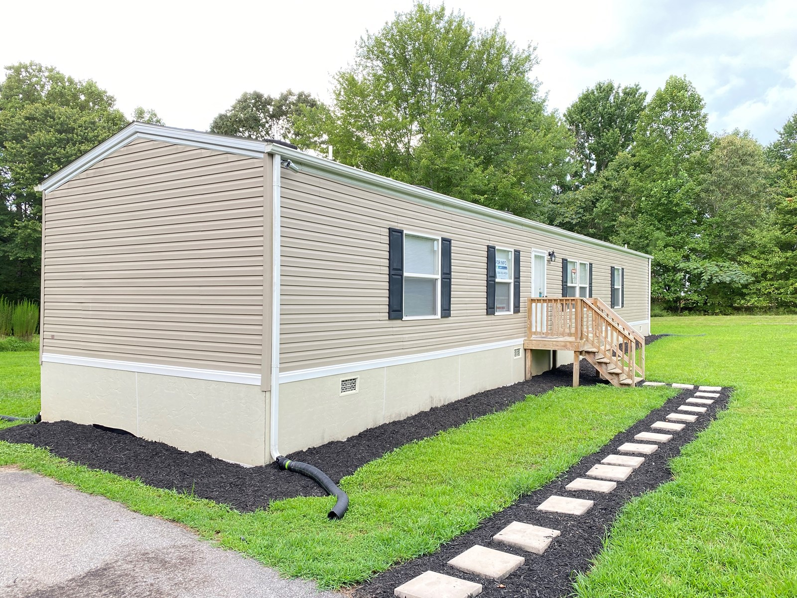 Country Affordable 1150 sq. ft. Manufactured Home on 3.15 ac
