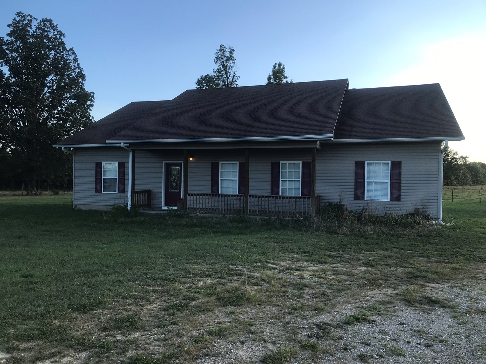 Country Home on 160 Acres m/l North Central Arkansas Ranch