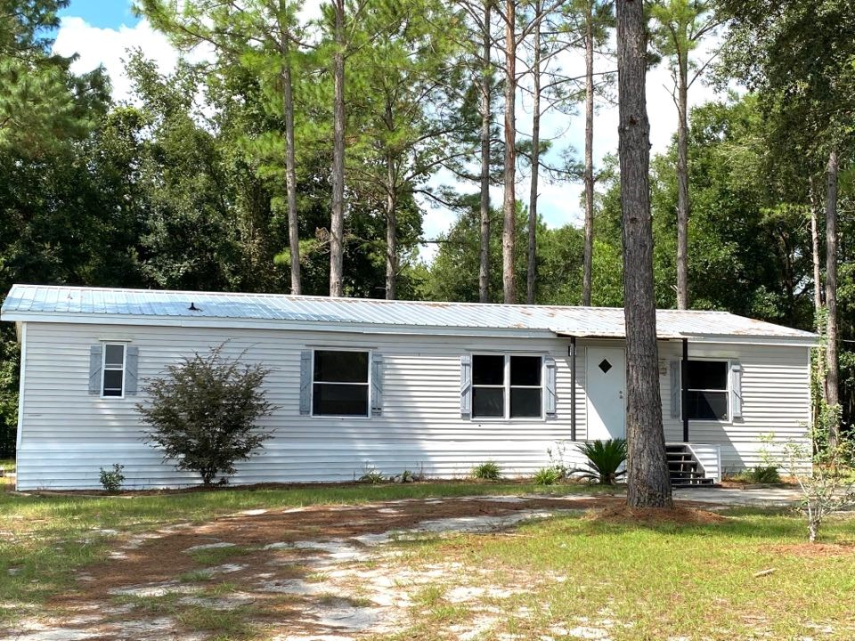 3/2 MOBILE HOME IN CHIEFLAND, FL - 1,512 sq.' H/C SF Plan