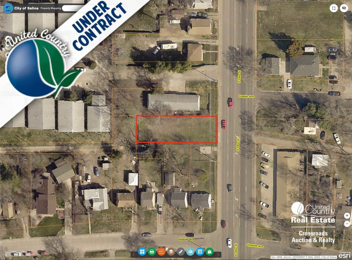 Ohio Street Vacant Lot For Sale in Salina Kansas Auction