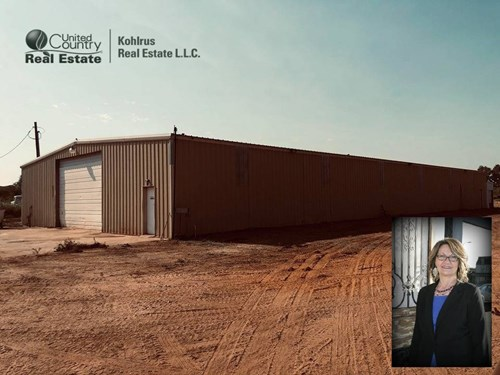 9,300 Sqft ± Building on 2.55 Acres ± Near Alva, OK