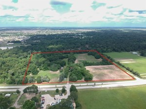 AMAZING 15.736 ACRES IN A FAST GROWING AREA OF CYPRESS, TX