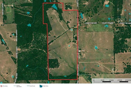 East Texas Ranch for Sale in Van Zandt County near Van Texas