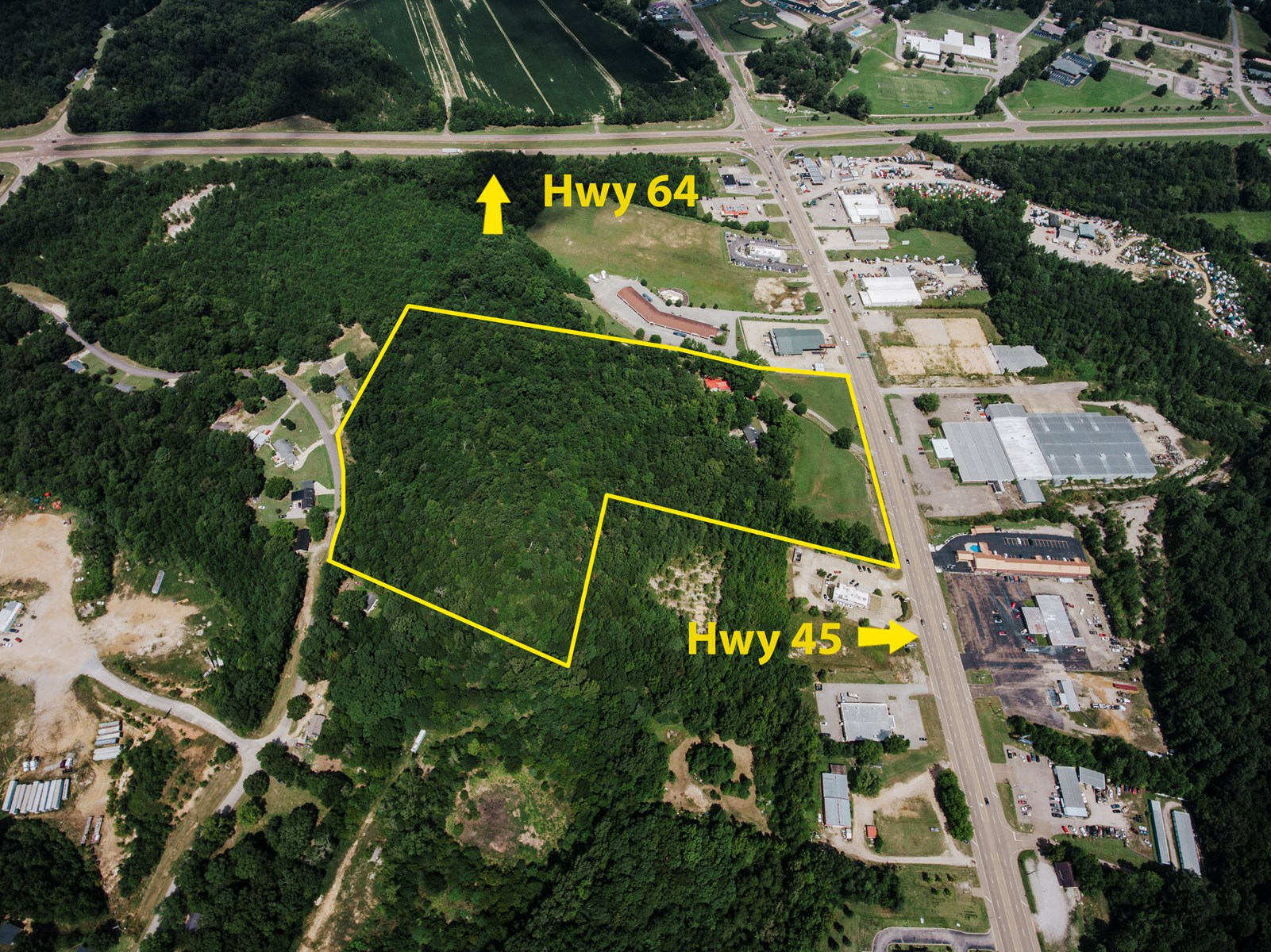 Potential Commercial Site Near Hwy 45 and Hwy 64; Selmer, TN