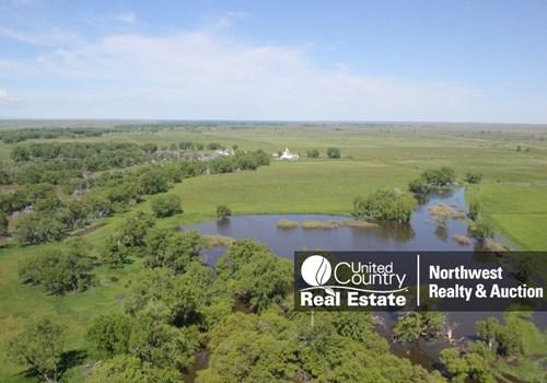 Milk River MT Ranch Irrigated Grazing Acres Outbuildings