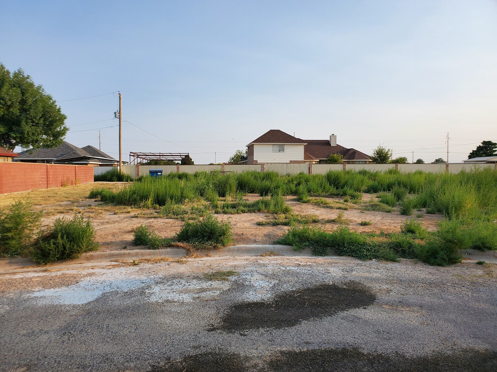 Lot For Sale In Town!