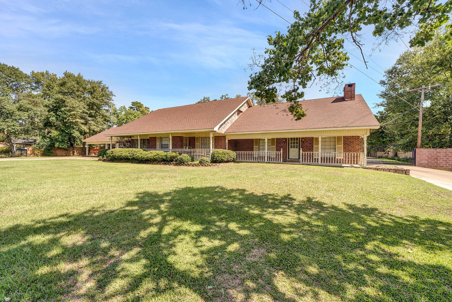 Country Home For Sale Hallsville ISD