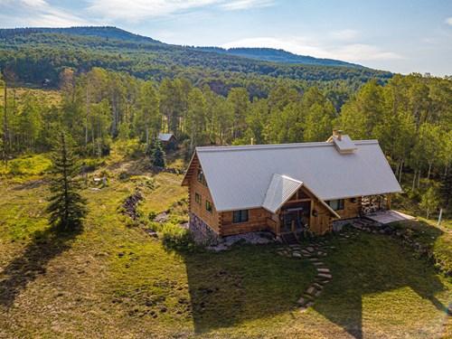 Recreational Log Home For Sale Western Colorado
