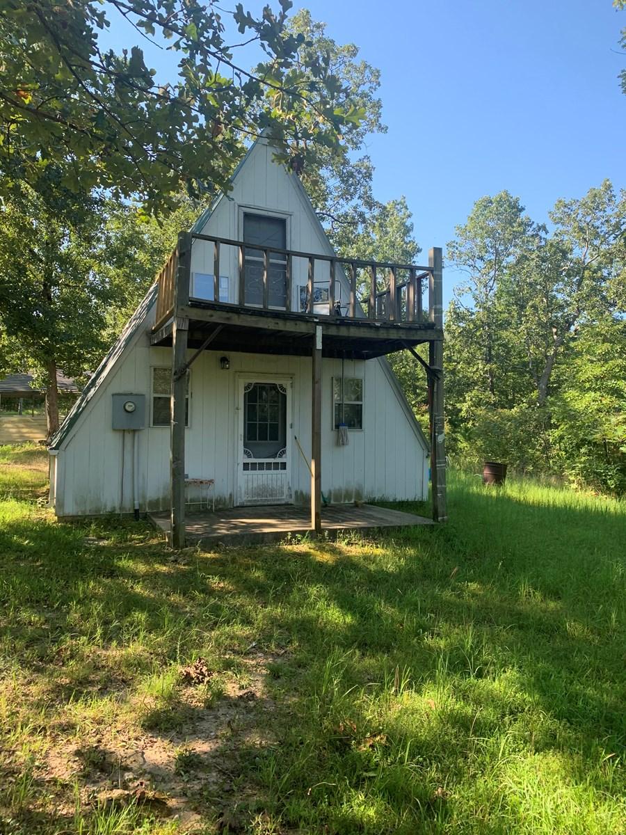 Wappapello Missouri Cabin and acreage for sale