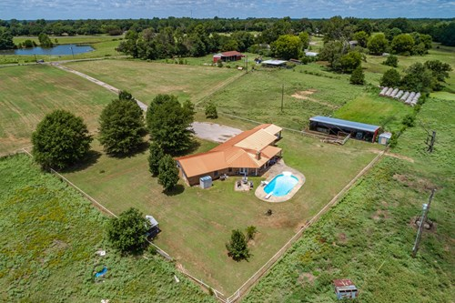 EAST TEXAS 57 ACRES WINNSBORO - WOOD COUNTY - CATTLE  RANCH