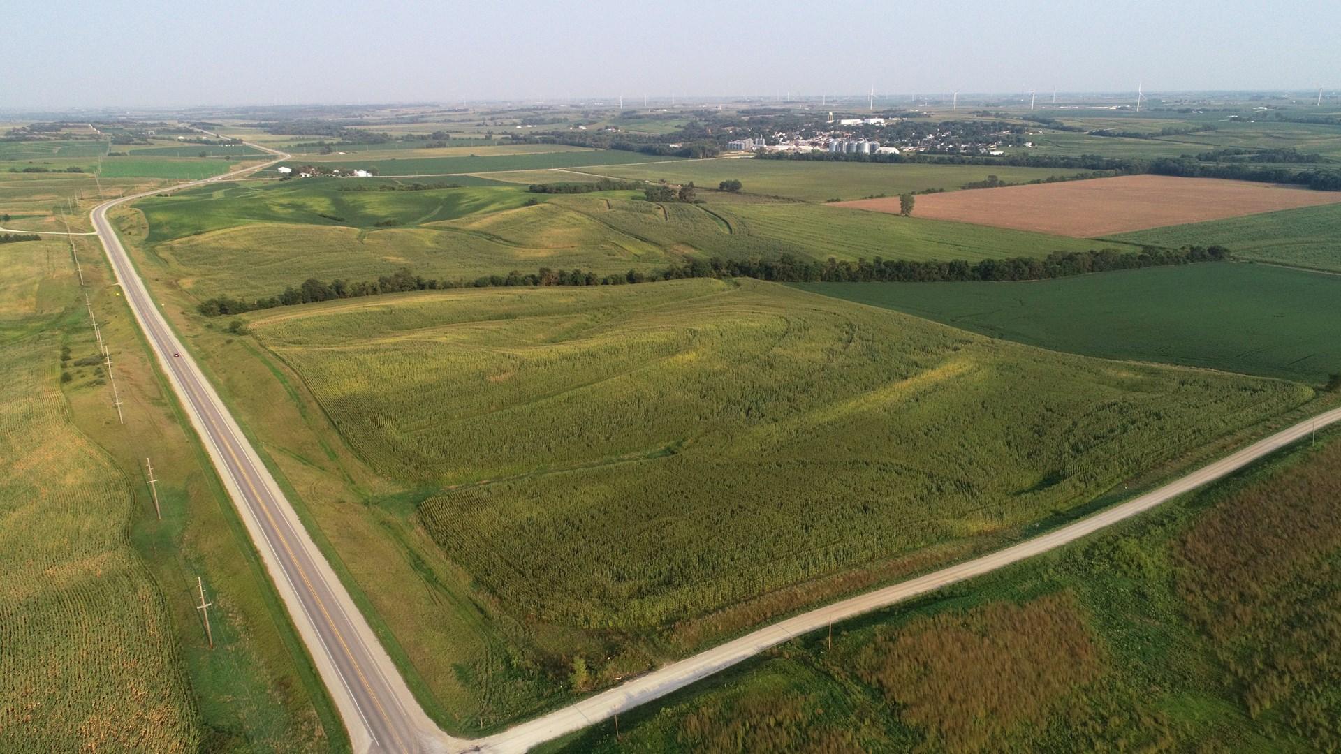 Poweshiek County Iowa Row Crop Farm