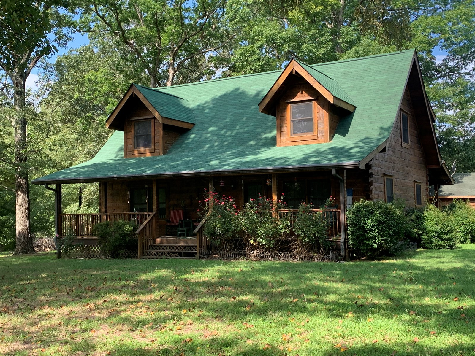LOG HOME FOR SALE, HOLLADAY TENNESSEE, BENTON COUNTY TN