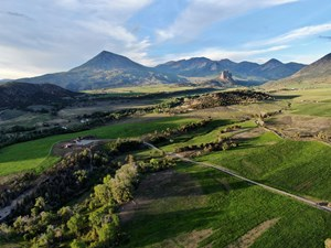COLORADO RANCH WITH CUSTOM HOME, IRRIGATED HAY MEADOWS, VIEW